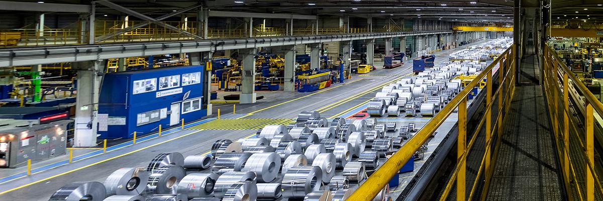 Konstante Nachfrage - Produktionsstrecke