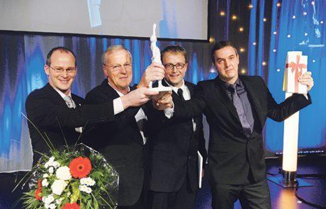Matthias und Willi Schäfer, Stefan Ochse und Claus Cronau, FingerHaus GmbH