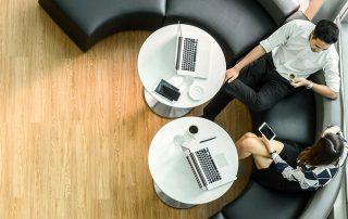 ESG-Kriterien - Büroszene
